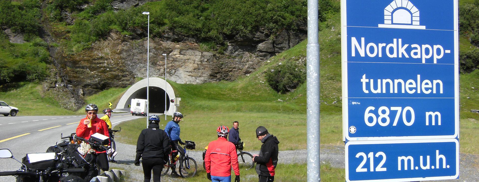 Viaggio in bici a Capo Nord Skybike – Luglio 2008